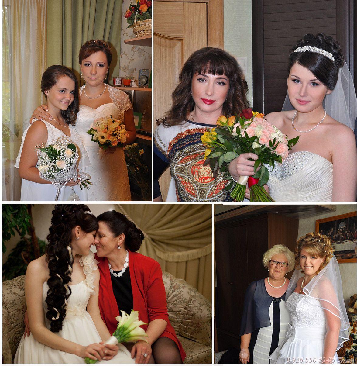 Прическа на свадьбу для мамы невесты на средние волосы фото с