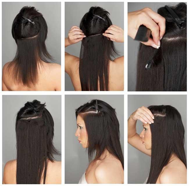 Искусственном волосе свадьба